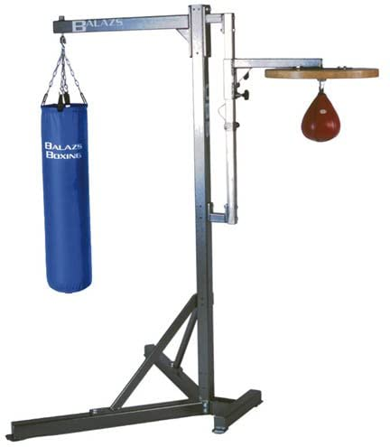 Balazs Universal Heavy Bag and Speed Bag Stand