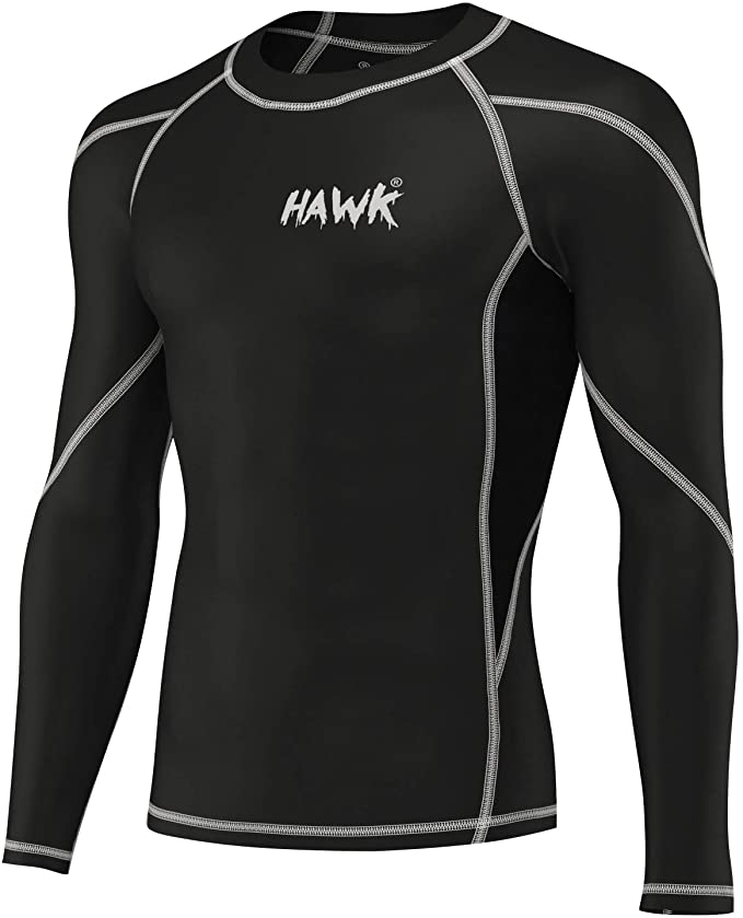 Hawk Sports No-Gi Full-Sleeve Rash Guard