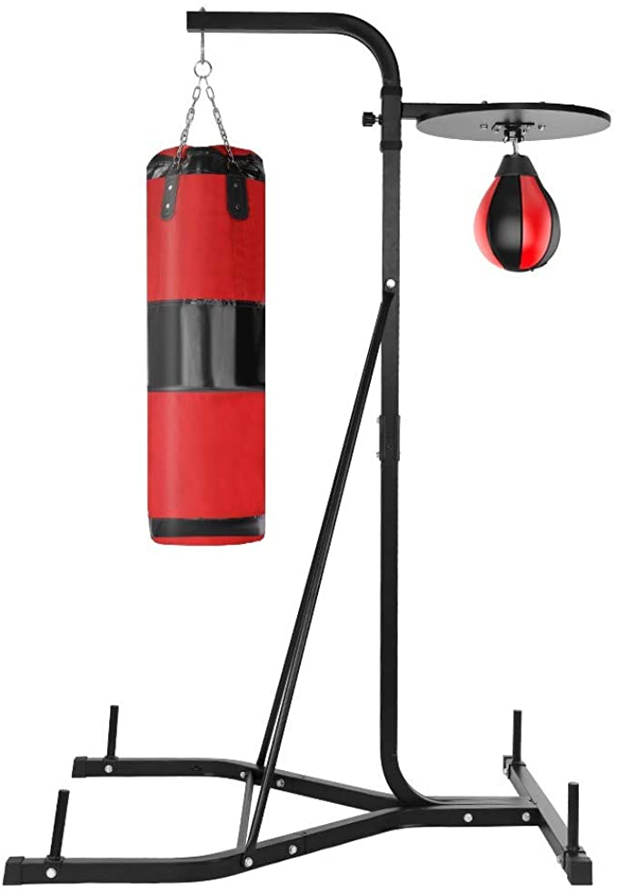 RDTIAN Heavy Punching + Speed Bag Stand