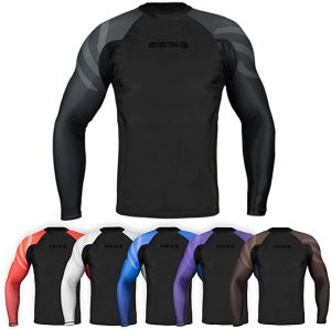 Sanabul Full-Sleeve Rash Guard for MMA & BJJ