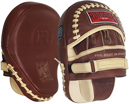 Ringside Heritage Panther Genuine Leather Punch/Focus Mitt (Review)