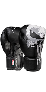 The Punisher Boxing Gloves